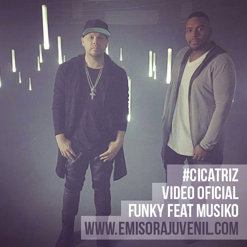 "Funky Featuring Musiko ""Cicatriz"" Video Oficial 2016"